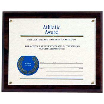 8x10 Certificate Plaque