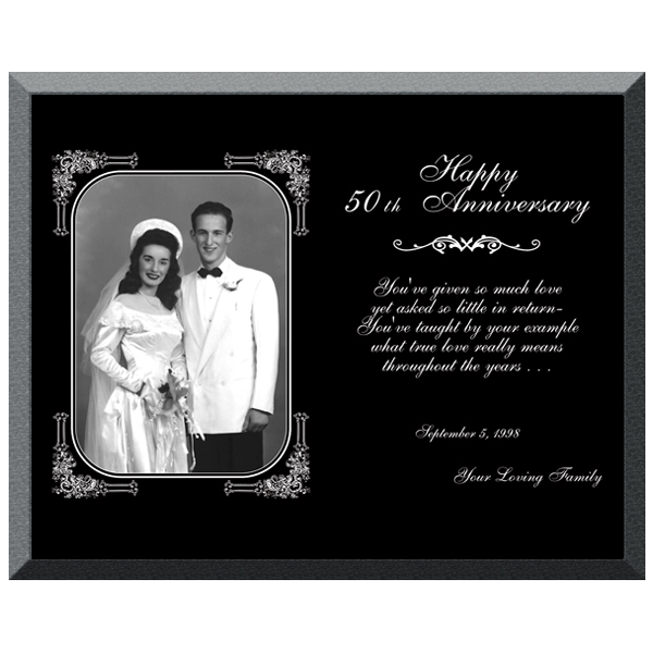 Black Acrylic Plaque