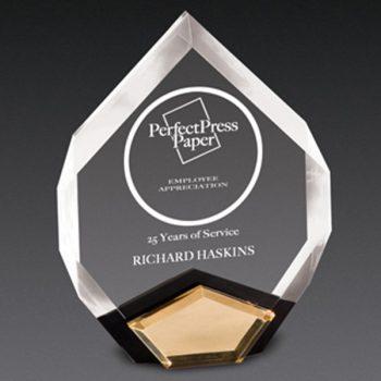 Clear Marquis Acrylic Award