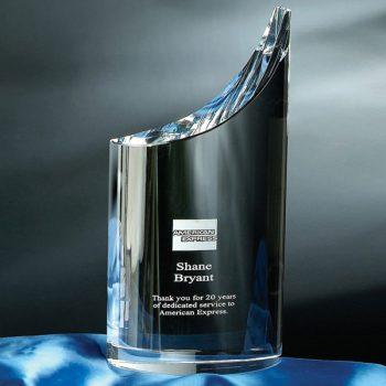Clear Mezzo Crystal Award