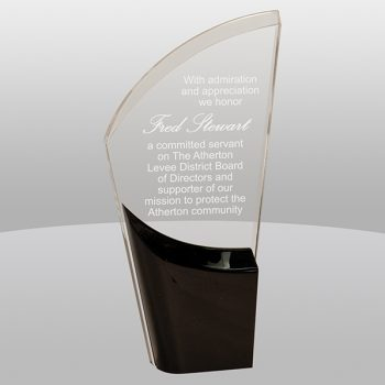 Lunar Acrylic Black Award LNA14BK