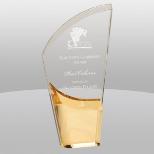Lunar Acrylic Gold Award LNA11GD