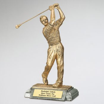Male-Golfer-Resin-Figurine
