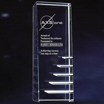 Steps Success Crystal Award