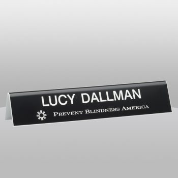 Tent Style Name Plate