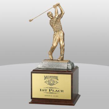 Trophy on Base