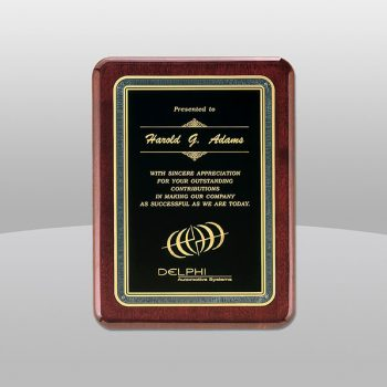 Rosewood-Piano-Finish-Plaque