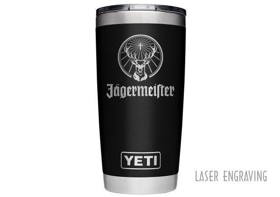 Black 20oz Yeti Finer Line Vistakhrom